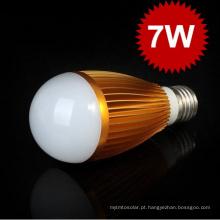 Alta Qualidade 7W Lâmpada LED E27 Bombillas Lâmpada LED Lâmpada AC85-265V