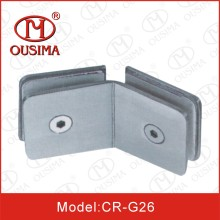 Square Glass to Glass Bathroom Fixing Clamp (CR-G26)