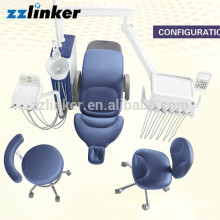 CE Approved Real Leather LED Operation Lamp Dental Unit Suntem ST-D570