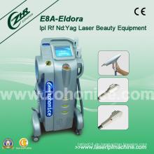 E8a Multifunktionale vertikale Elight IPL RF Laser Haarentfernung Ausrüstung