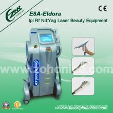 E8a Multifuncional Vertical Elight IPL RF Laser Depilação Equipamento