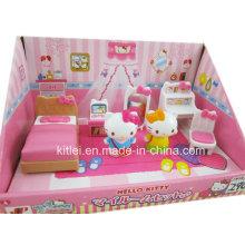 Brinquedo de plástico clássico Olá Kitty alta qualidade