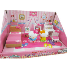 Clássico Hello Kitty brinquedo de plástico de alta qualidade