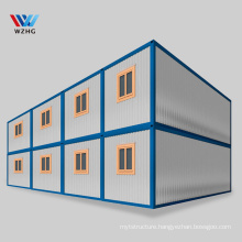 cheap 20ft flat pack container home prefab houses container cabin office building