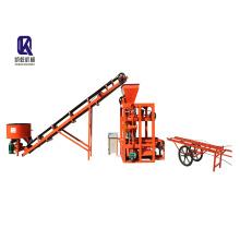 Hydraulic Semi-Automatic Brick Making Machine QT4-23A