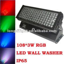 outdoor 108*3w LED bar lights,IP65 color wash bar