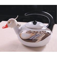Nouvelle bouilloire pour animaux émaillés en design / bouilloire à canard