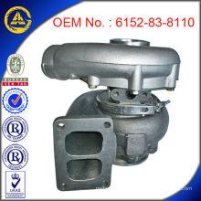 100% новый турбокомпрессор-6152-83-8110 для Komatsu PC400-5 Двигатель с сертификатом TS16949 TA4532 Турбокомпрессор с SHOCK PRICE