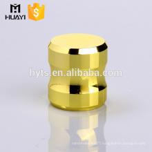 Most popular Shiny gold Zinc Alloy Metal Perfume Bottle Cap