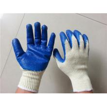 Gummi-beschichtete Baumwollhandschuhe