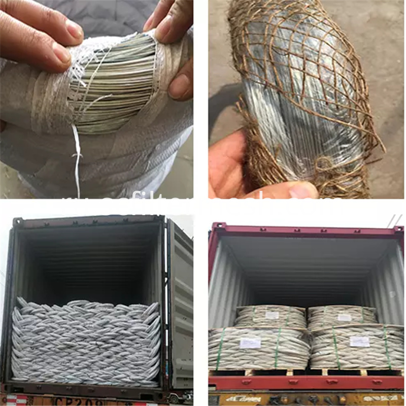Packing Galvanized Wire