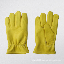 Cow Grain Leather Full Lined Driver Protective Glove-9004