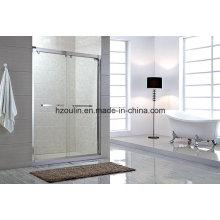Tela de porta do compartimento da sala de chuveiro simples deslizante (SS-103)