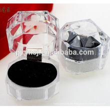 """elegante ture love crystal jewllery box """"Para casarse con él"""""""