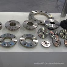 Bride en acier au carbone Asme B16.5 A105