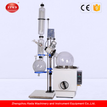 Lab bioreactor  vacuum glass distiller unit