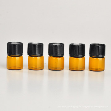 1ml Braunes Glas ätherisches Öl Flasche (NGB1141)
