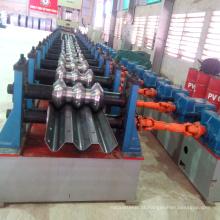 melhor qualidade 2 e 3 ondas guardrail rolo dá forma à máquina