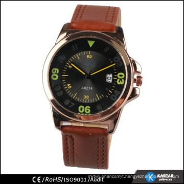 wholesale men waterproof watch, japan movement pc32 watch