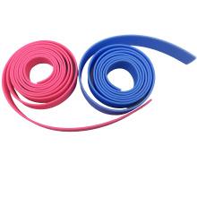 Correia revestida do Web do Wearable PVC plástico para produtos da corrida de cavalos