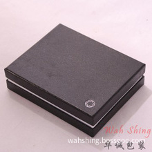 High quality embossed logo money clip box with inserts