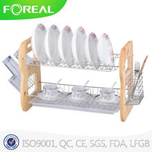 22 Inch Chromed Metal Wire Dish Rack