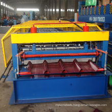 IBR roofing single layer metal sheet roofing roll forming machine panel sheet profiling machine for sale