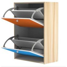 Shoe Cabinet, Shoe Rack, Shoe Box, Melamine MDF Shoe Cabinet