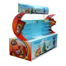 Two Sides Cardboard Recycled Strong Stand Display
