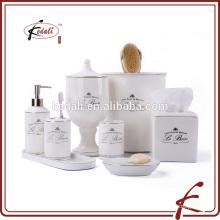 Chaozhou Kedali wholesale turkish hotel ceramic gift bath set