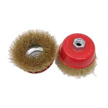 Hot Sale Polishing And Removing Metal External Mounted Crimped Steel NHXB-0015 Wire Cup Brush