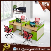 Light green lively MDF workstation from Southeast China