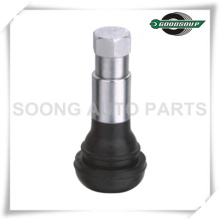 Snap in Rubber Tire Valve Chromed Sleeve TR413C