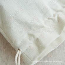 Bolso de lazo pequeño al por mayor de la lona de algodón