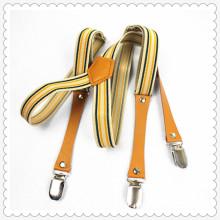 Nouveaux pantalons de jeans design clips bretelles bretelles