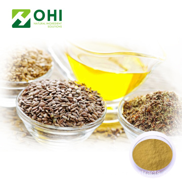 Flax Seed Extract Secoisolariciresinol Flax Lignans Powder