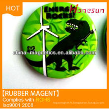 high quality souvenir gift rubber fridge magnet 3D PVC from china manufactor