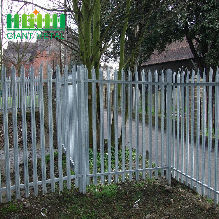 High Quality Decorative Galvanized Palisade for Wholesale