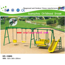 Swing Chair Seesaw, Kids Seesaw, Outdoor Seesaw Swing for Kid Amusement Park Seesaw New Slide and Swing on Stock (HC-13805)
