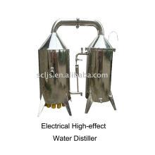 DGJZZ-100 Máquina de destilador de água de alta eficiência elétrica efeito eficiente