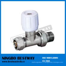 Fabricant de vanne de radiateur en laiton (BW-R07)