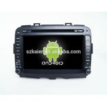 vente chaude, lecteur dvd de voiture avec caméra de recul, wifi, Bluetooth, MIRROR-CAST, AIRPLAY, DVR, jeux, double zone, SWC pour kia carens 2014