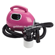 Intérieur Petit Body Bronzage Lit Mini HVLP Electric Spray Tan Gun Professional Aérographe Home DIY Machine solaire de bronzage portable