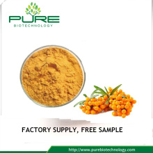Sea buckthorn Powder larut dalam air