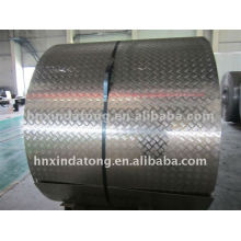 A3003 /A3005 tread plate coil aluminum with film PVC