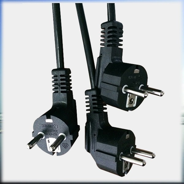VDE Certificated ceeto iec c13 plug EURO Power cord2