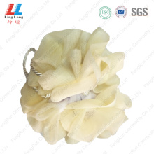 Lightly fiber with mesh sponge ball