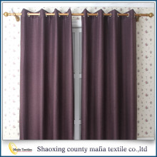 2016 New design plain blackout window curtain valance for arab