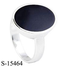 Anillo de joyería de plata de ley 925 de diseño clásico