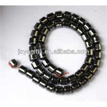 Hematite 8mm drum beads for jewelry